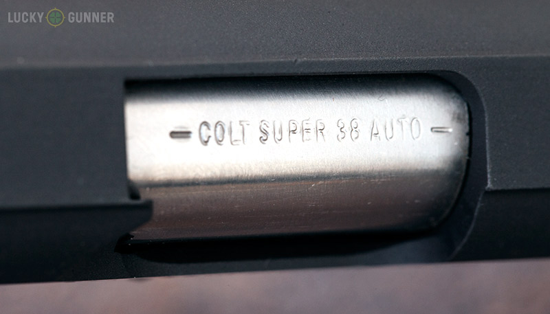 Colt 1911 .38 Super Barrel