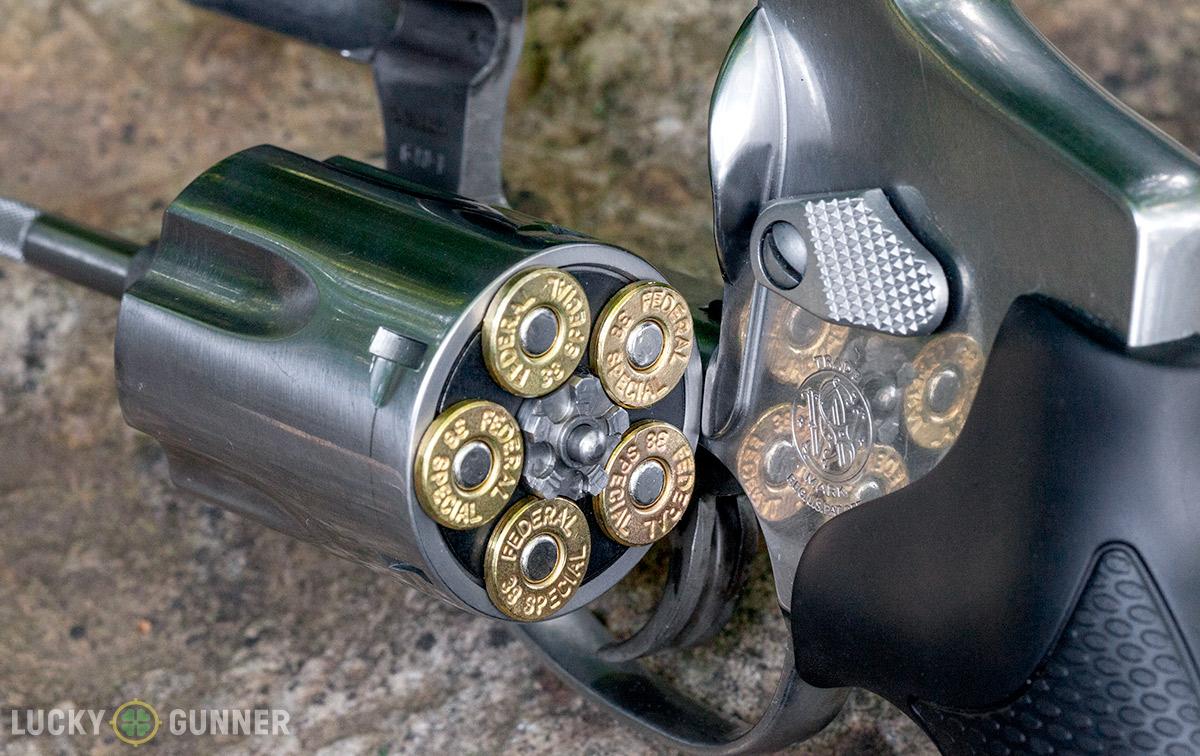 S&W 640 Pro cylinder