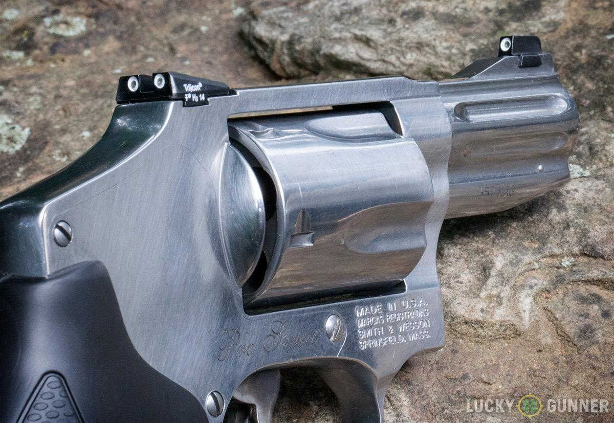 S&W Model 640 Pro sights