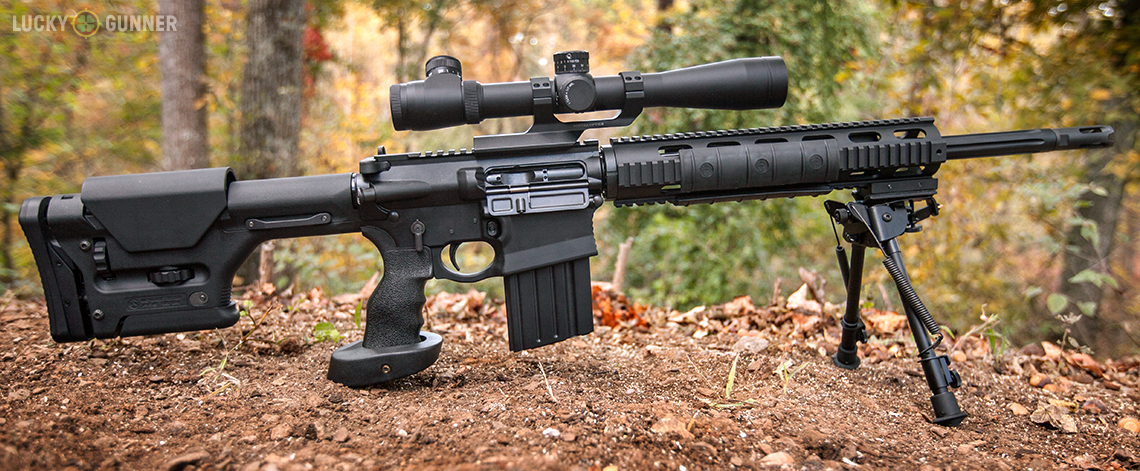DPMS GII Review - A Look at the DPMS GII SASS .308 Rifle