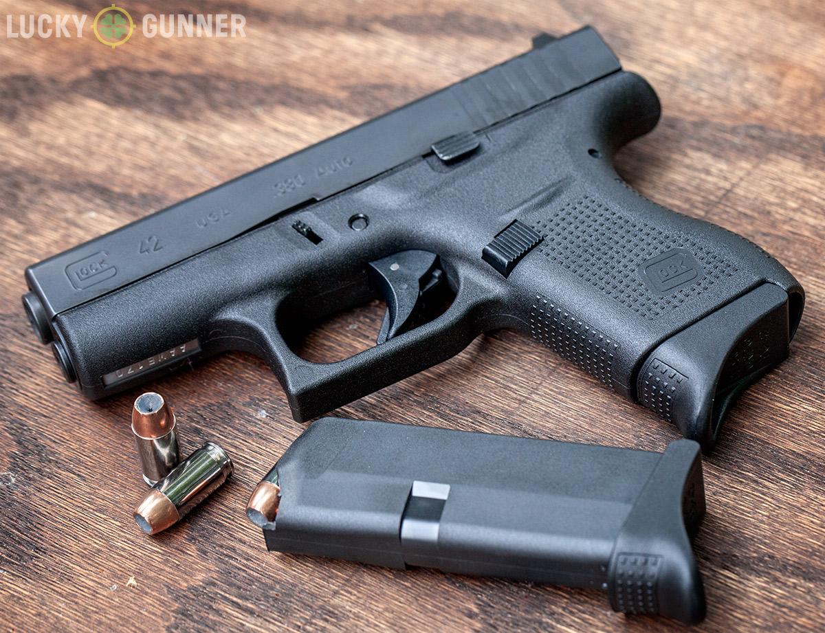 Glock 42 grip extension