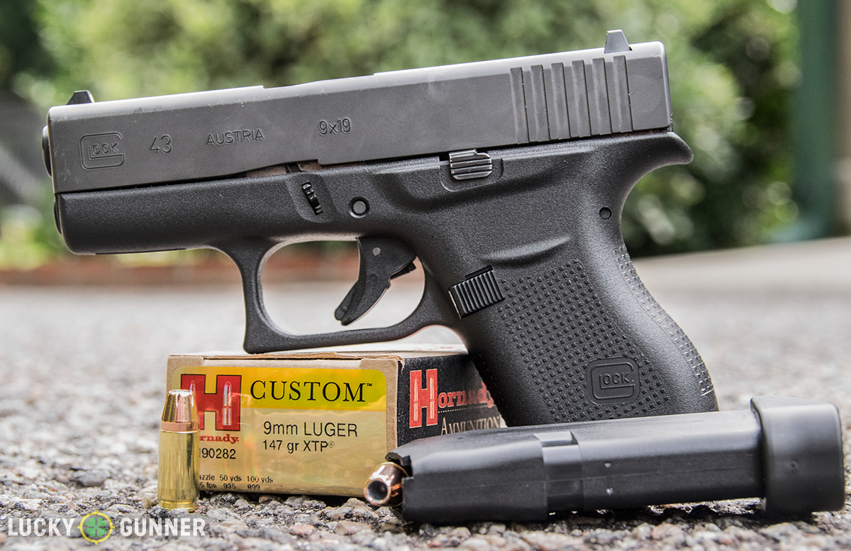 Glock 43 vs. Sig Sauer P938 - Single Stack 9mm Comparison
