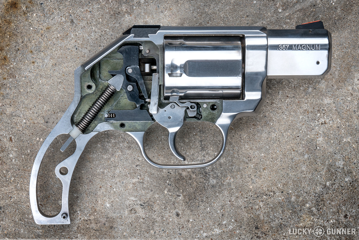 Review Kimber K6s 357 Magnum Snub Nose Lucky Gunner Lounge