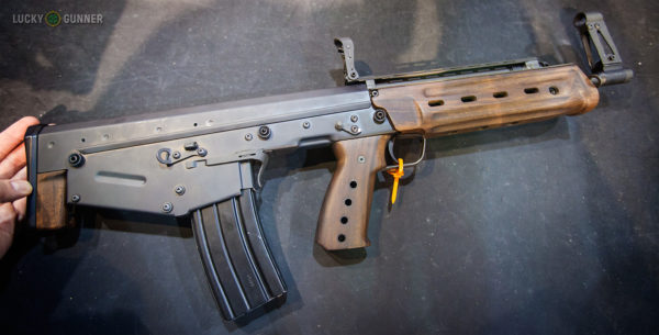 Kel Tec M43 5.56 NATO Bullpup rifle