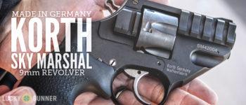 Korth Sky Marshall 9mm revolver