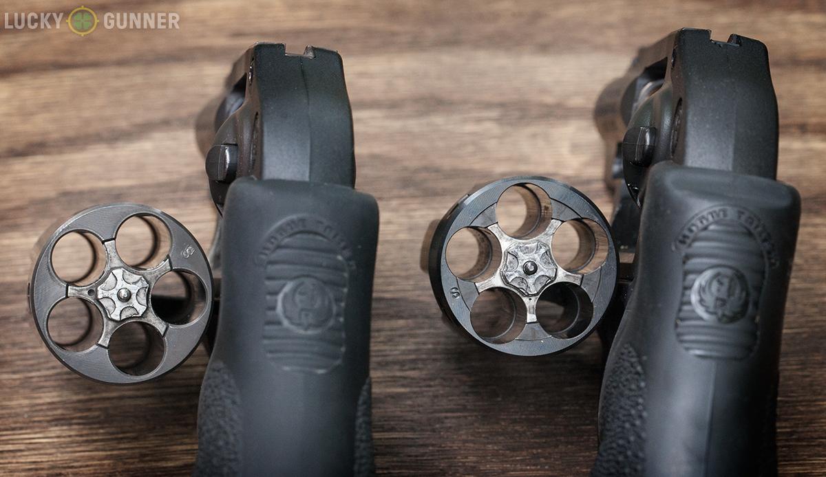 Ruger LCR 9mm cylinder