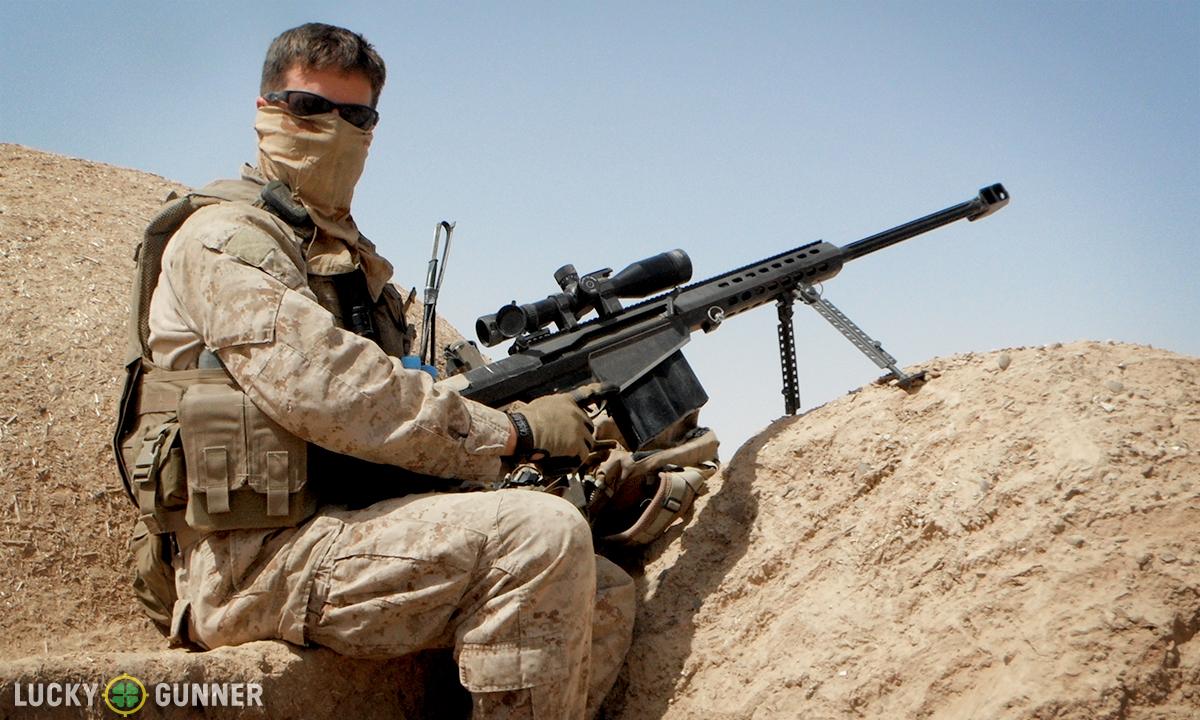 marine corps machine gunner