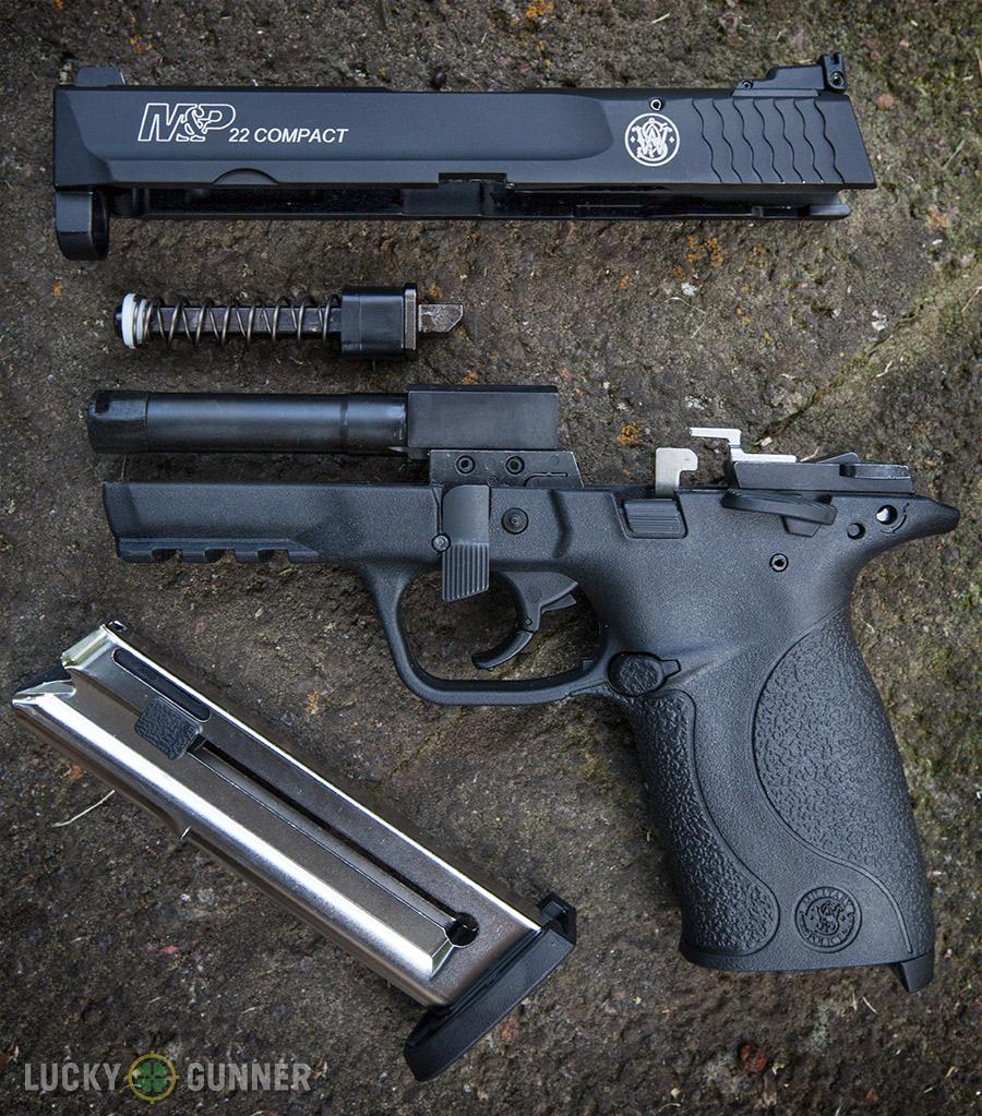 Smith  U0026 Wesson M U0026p 22 Compact Pistol