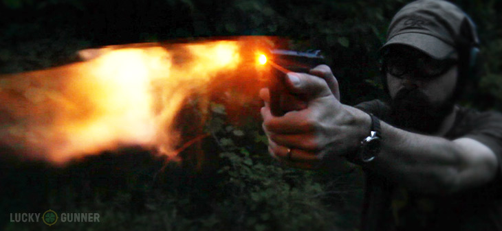 Muzzle Flash S&W M&P Shield