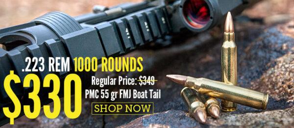 .223 REM 1000 Rounds