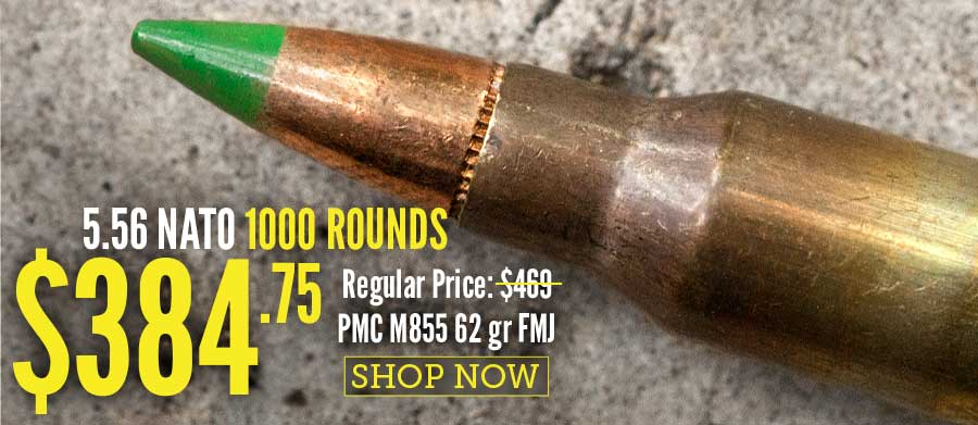 5.56x45 - 62 gr FMJ M855 - PMC