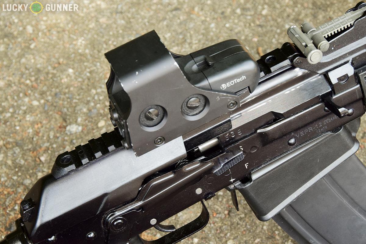 How To Mount Optics To An Ak 47