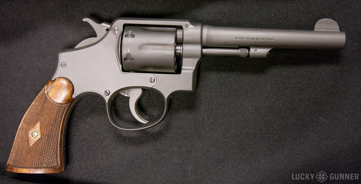 S&W 1905 hand ejector
