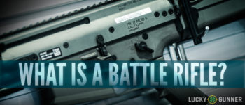 What is a Battle Rifle featured