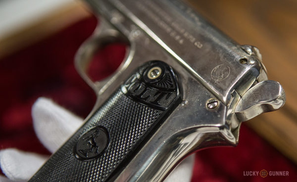 Colt Model 1902 back view