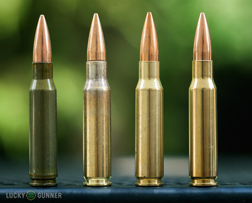 .308 Win cartridges