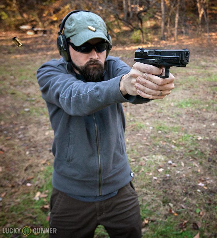 Shooting the Canik TP9 SA