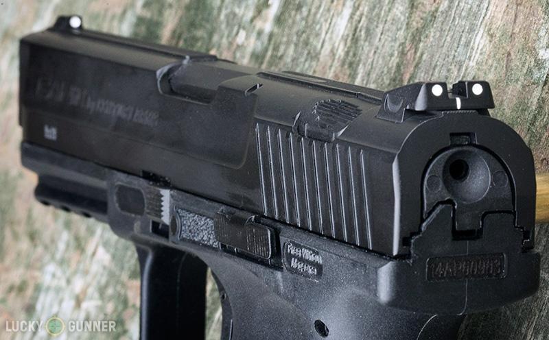 Canik TP9 SA sights