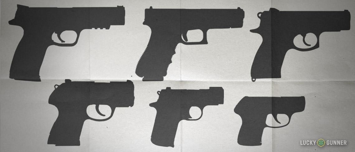 Carry Guns Sizes