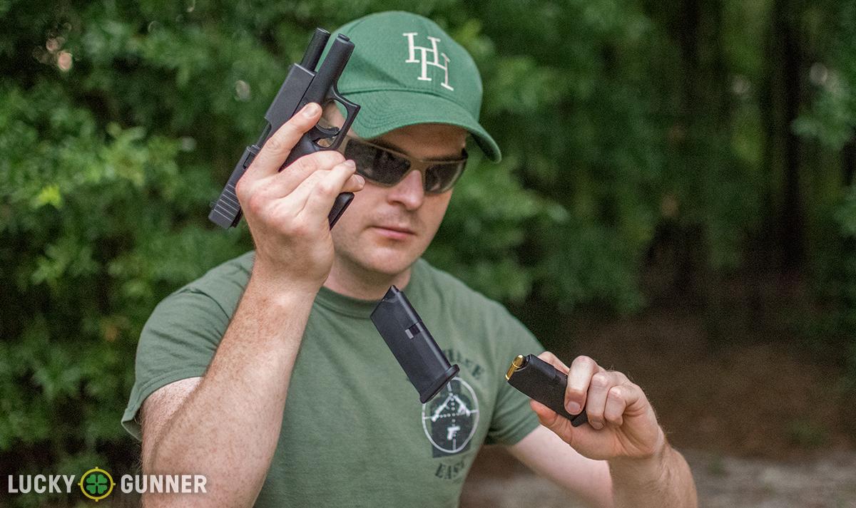 Glock 43 mag change