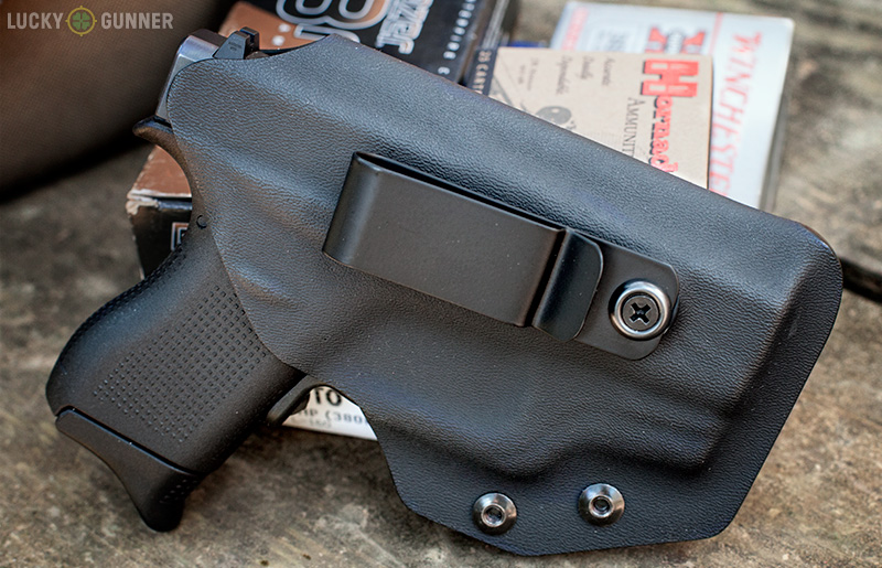 Glock 42 w/ Cook's IWB Holster