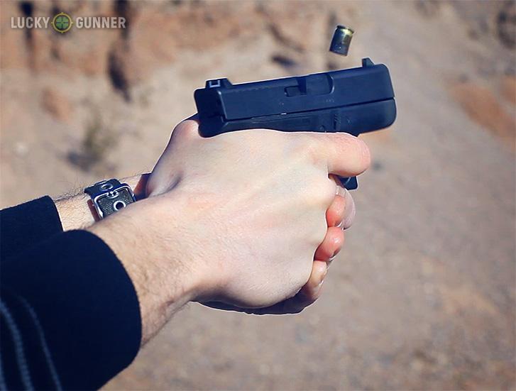 Firing Glock 42