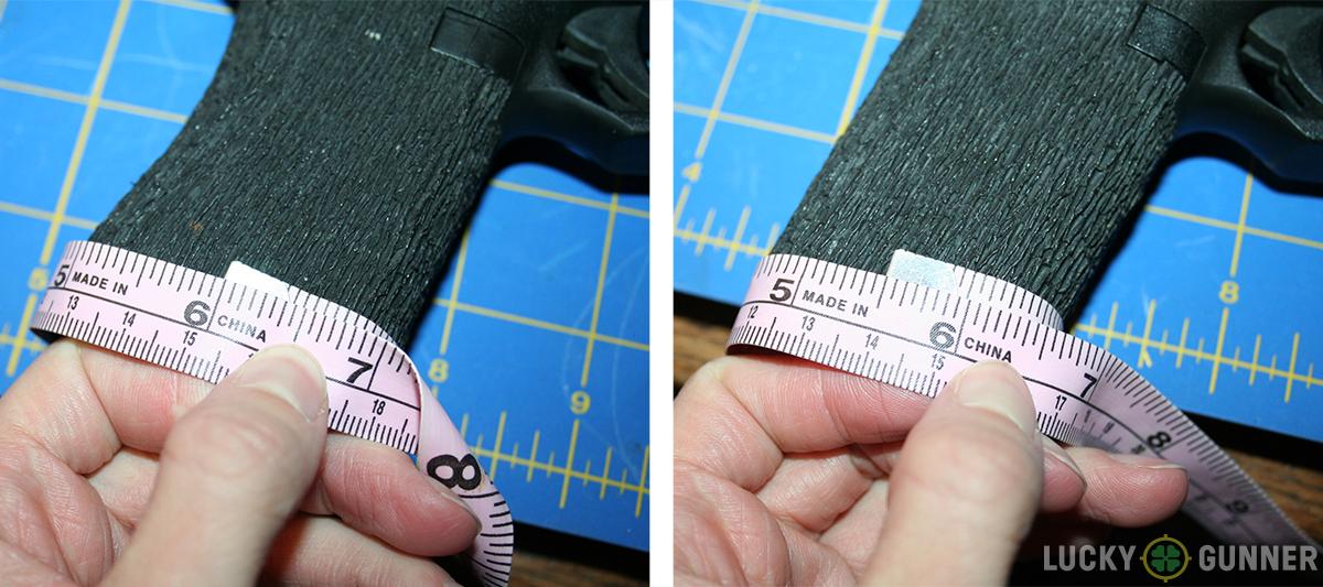 grip reduction width comparison