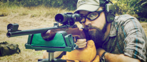 Shooting groups with a 7.62x39 CZ 527 carbine.