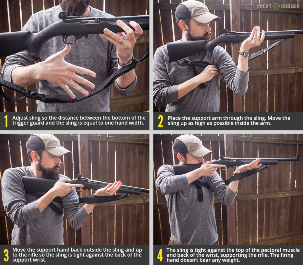 Hasty Sling in Four Steps