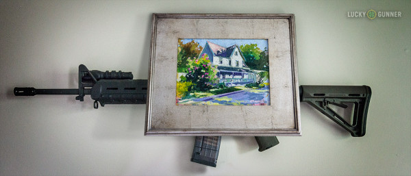 Hidden AR-15