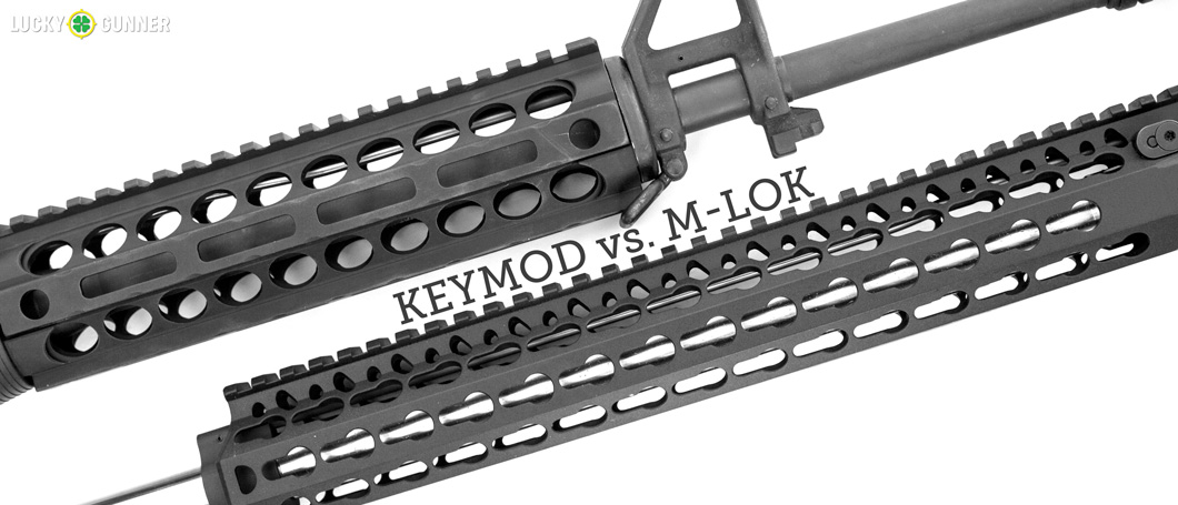 Keymod Vs M Lok Ar Rail Standard Comparison
