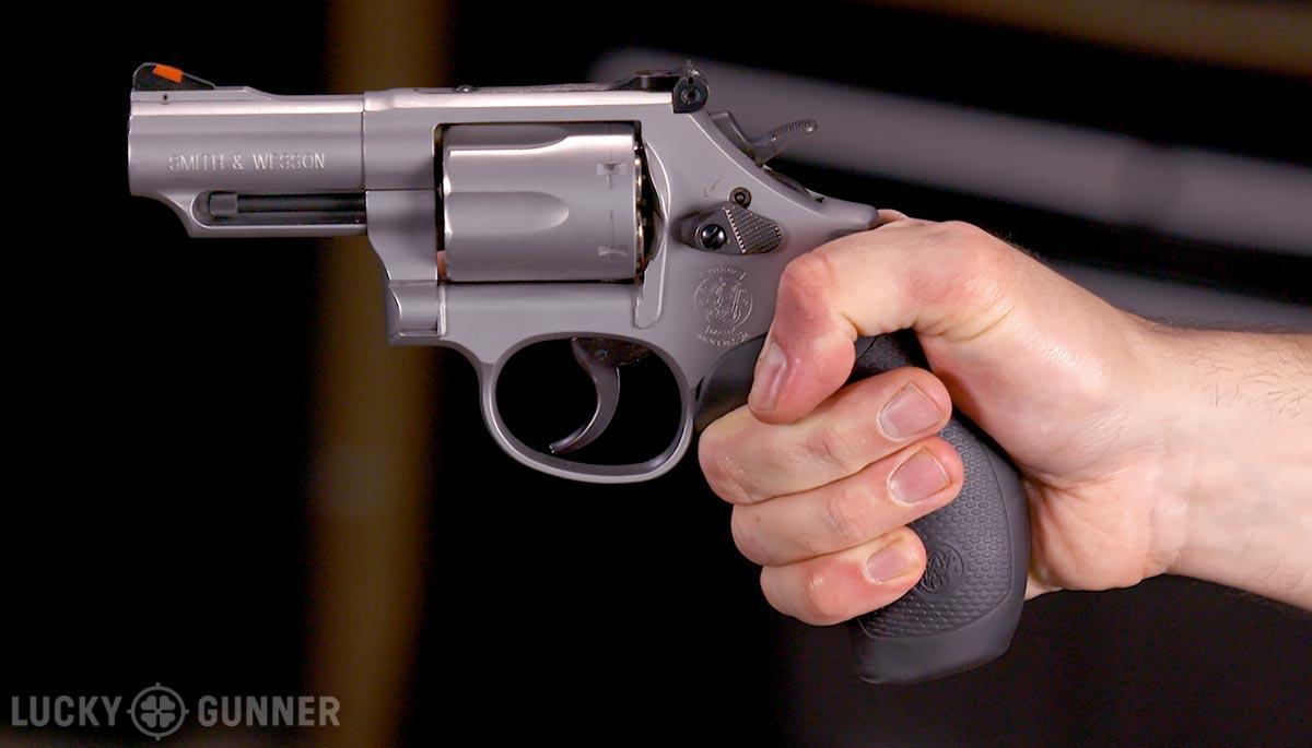 revolver grip left side