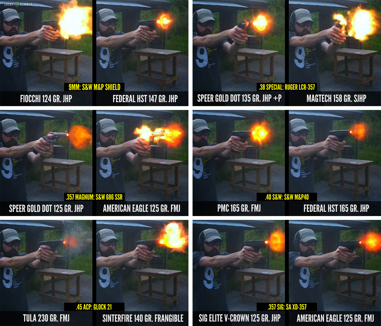 Muzzle Flash Comparison