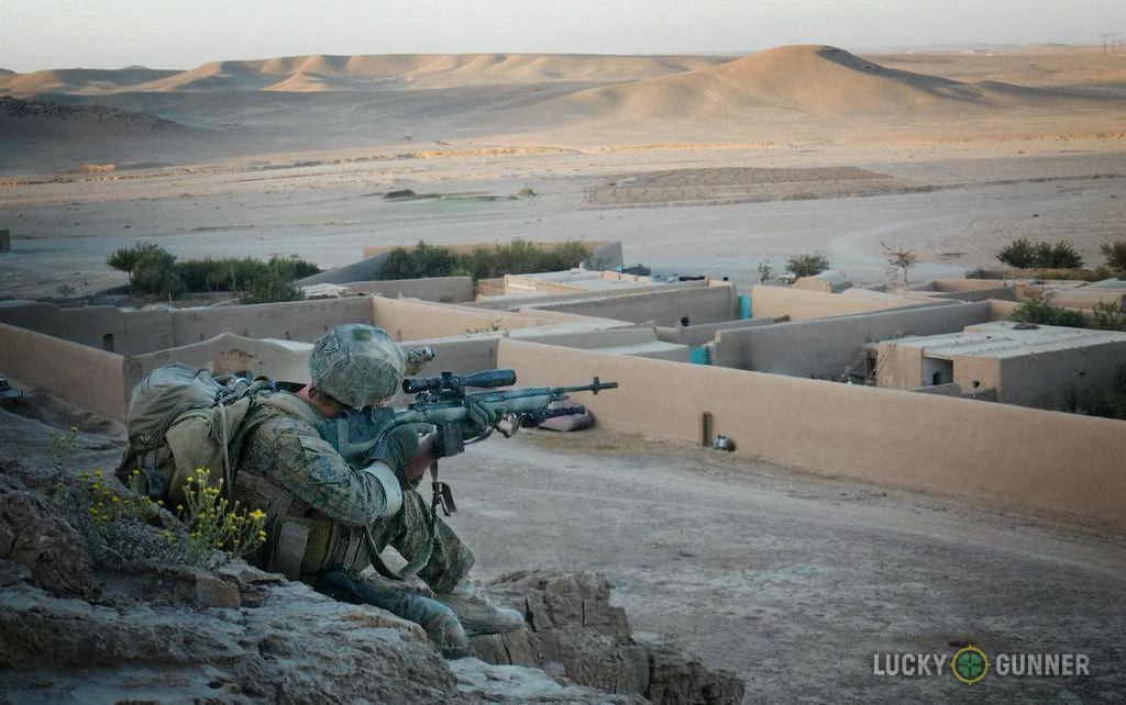 providing overwatch in Afghanistan