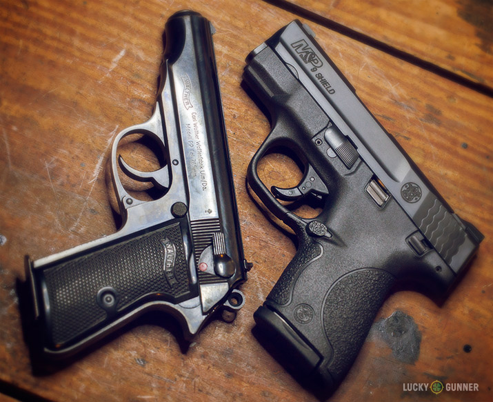 Walther PP and S&W Shield