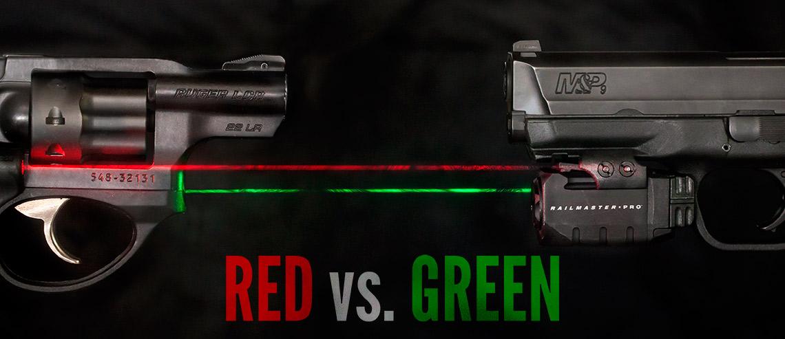 Red Vs Green Laser Sights Lucky Gunner Lounge