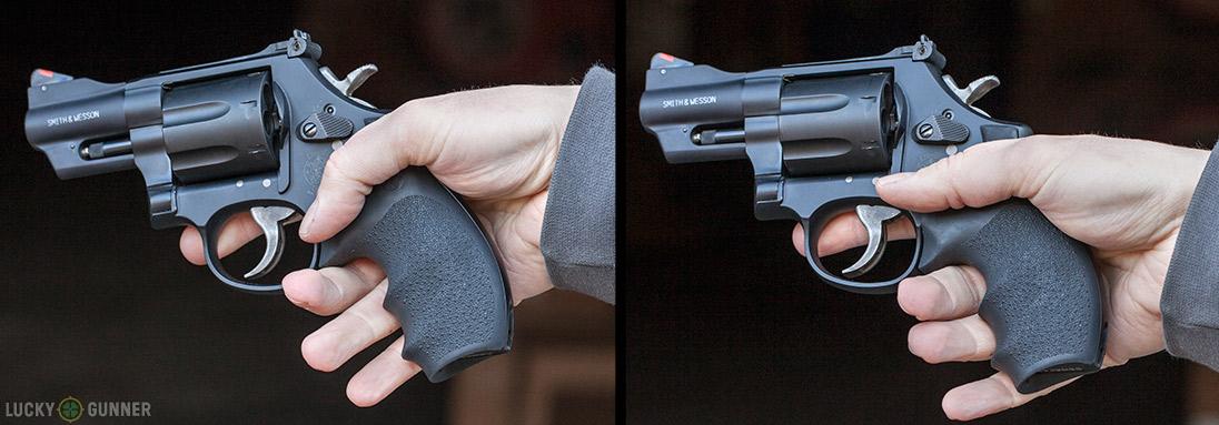 revolver finger grooves
