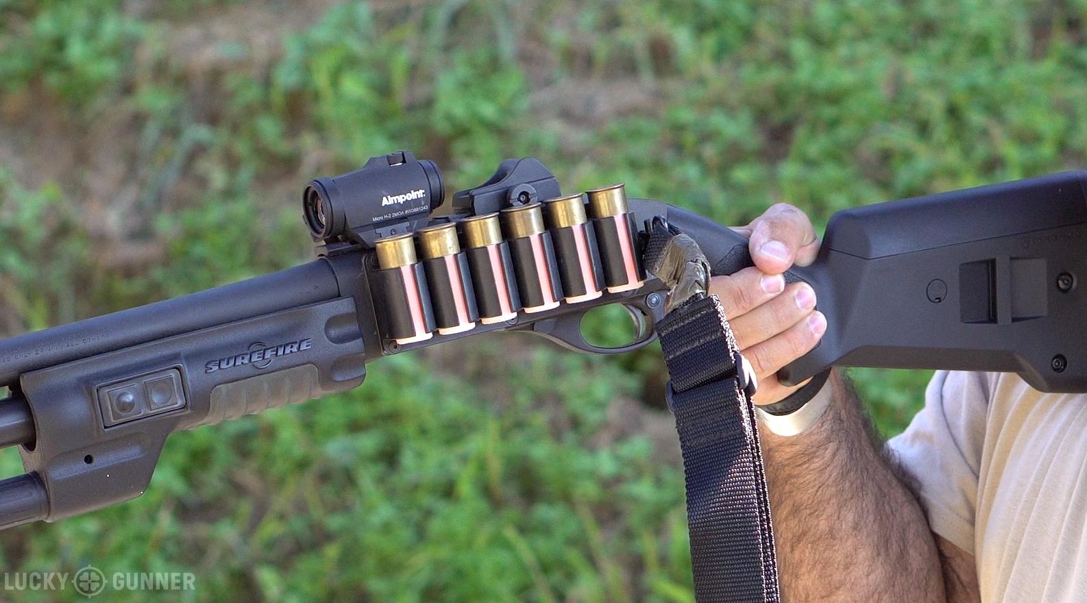 Remington 870 sidesaddle
