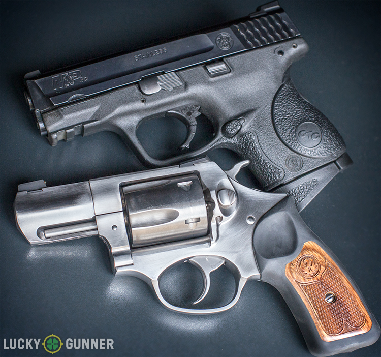 Ruger SP-101 vs S&W M&P9c