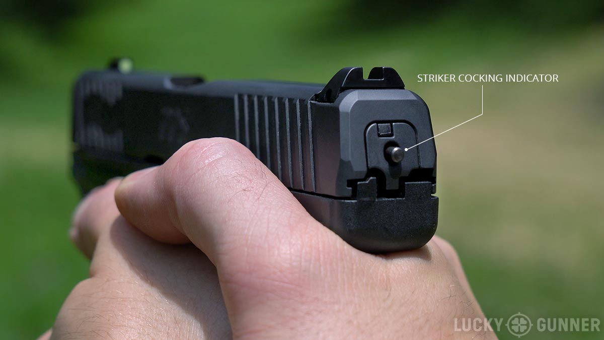 Walther PPS M2 striker cocking indicator