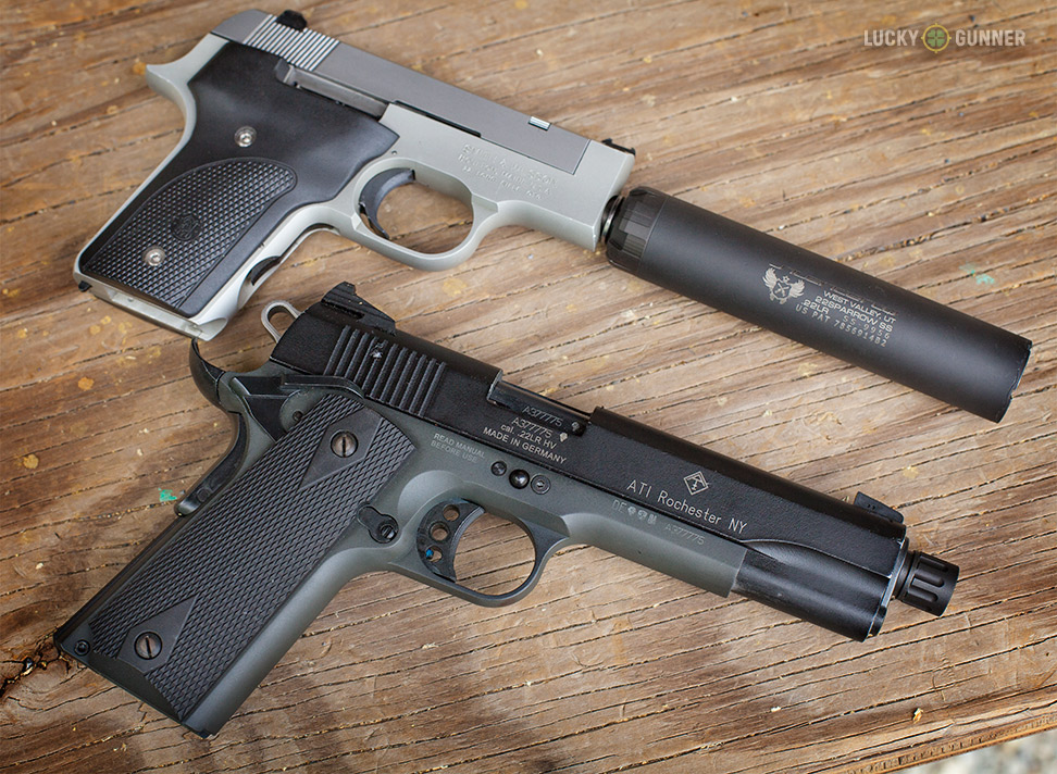 S&W 2213 and GSG 1911-22
