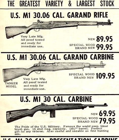 M1 Garand ad