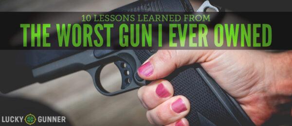 worst gun featured image