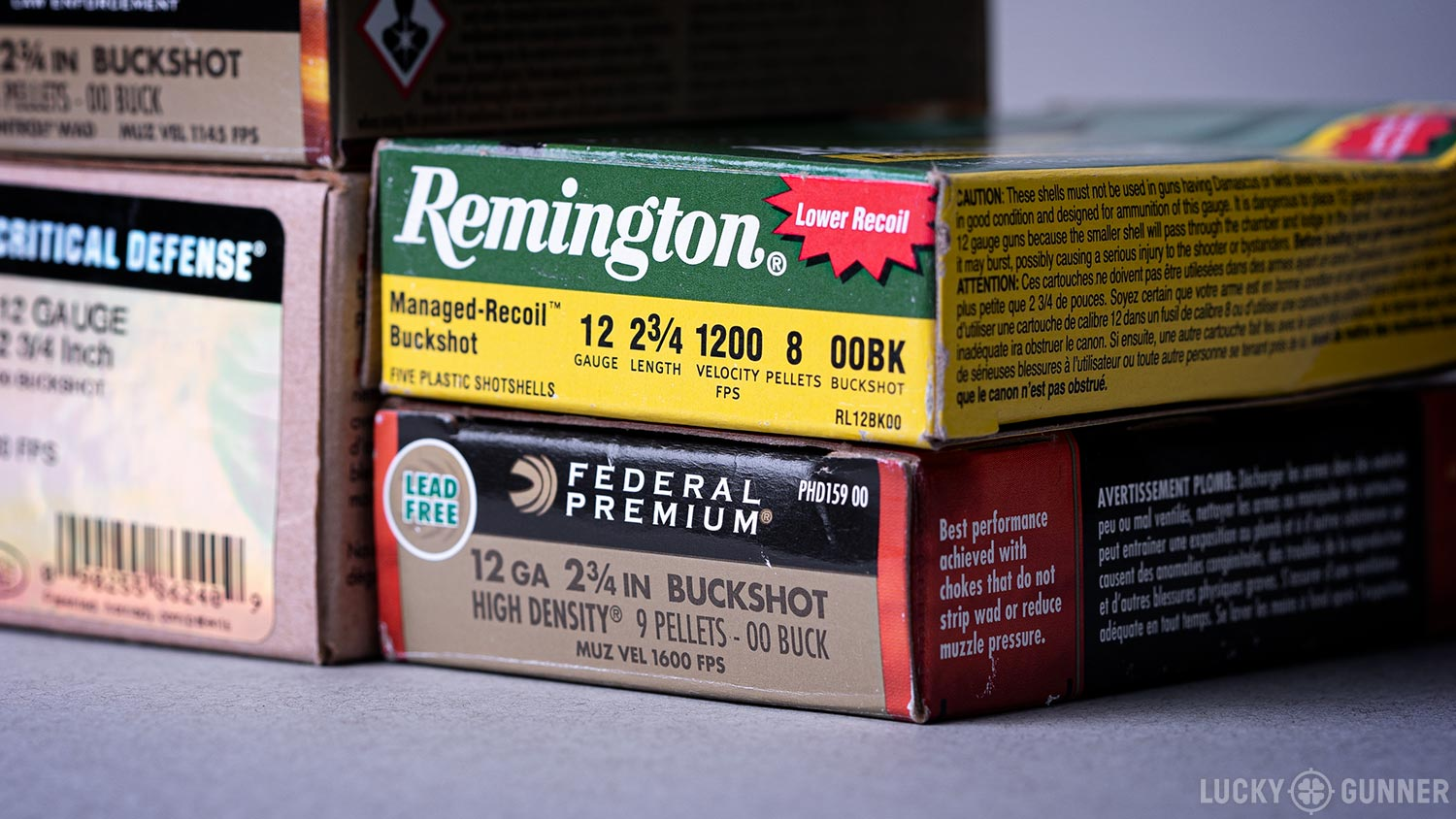 Remington 00 Buckshot box