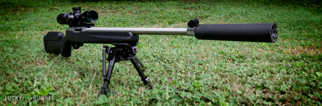 Ruger 10/22 Design Contest Winner with Silencerco Sparrow