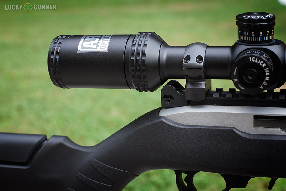 Ruger 10/22 scope placement