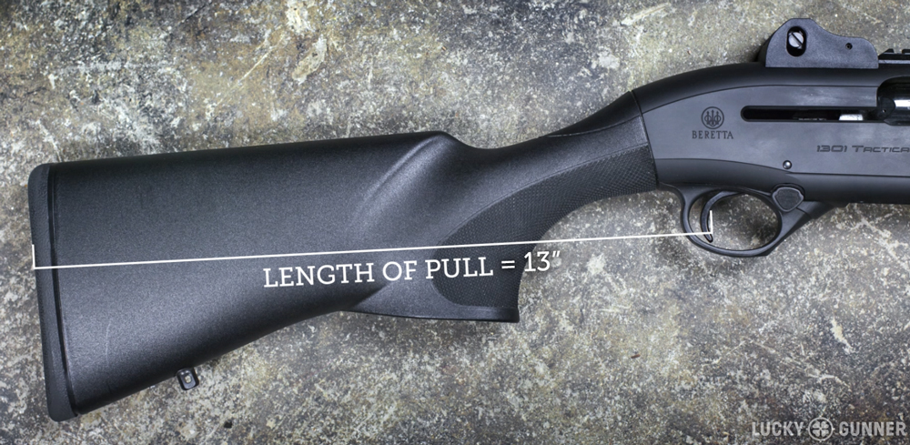 Beretta 1301 Length of Pull