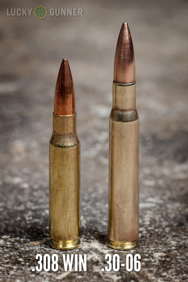 308 Win vs 30-06 Springfield Ammo
