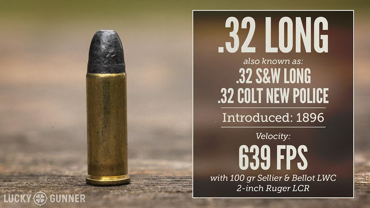 Why the Best Snub Nose Caliber is  32 - Lucky Gunner Lounge