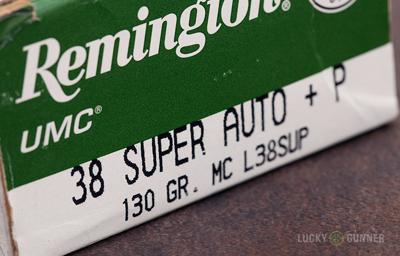 Remington .38 Super Auto +P